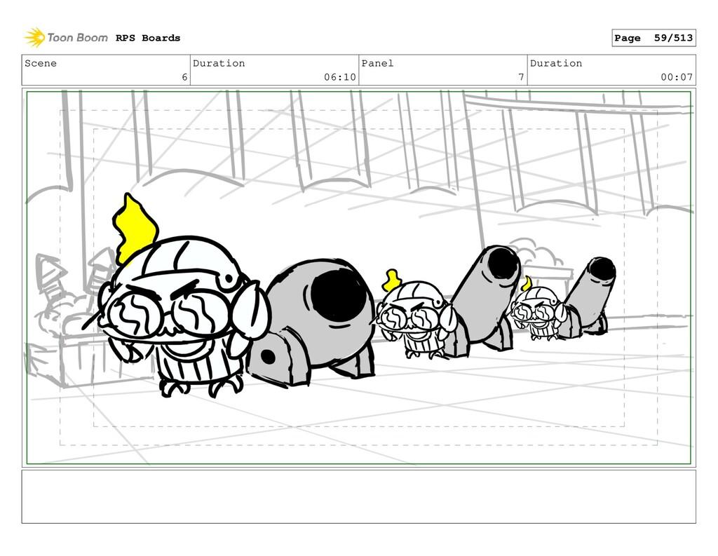 Scene 6 Duration 06:10 Panel 7 Duration 00:07 R...