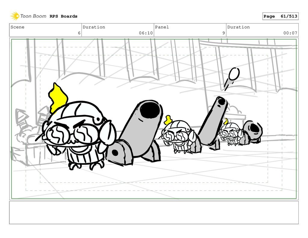 Scene 6 Duration 06:10 Panel 9 Duration 00:07 R...
