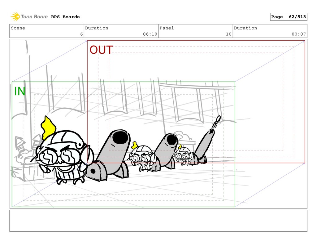 Scene 6 Duration 06:10 Panel 10 Duration 00:07 ...
