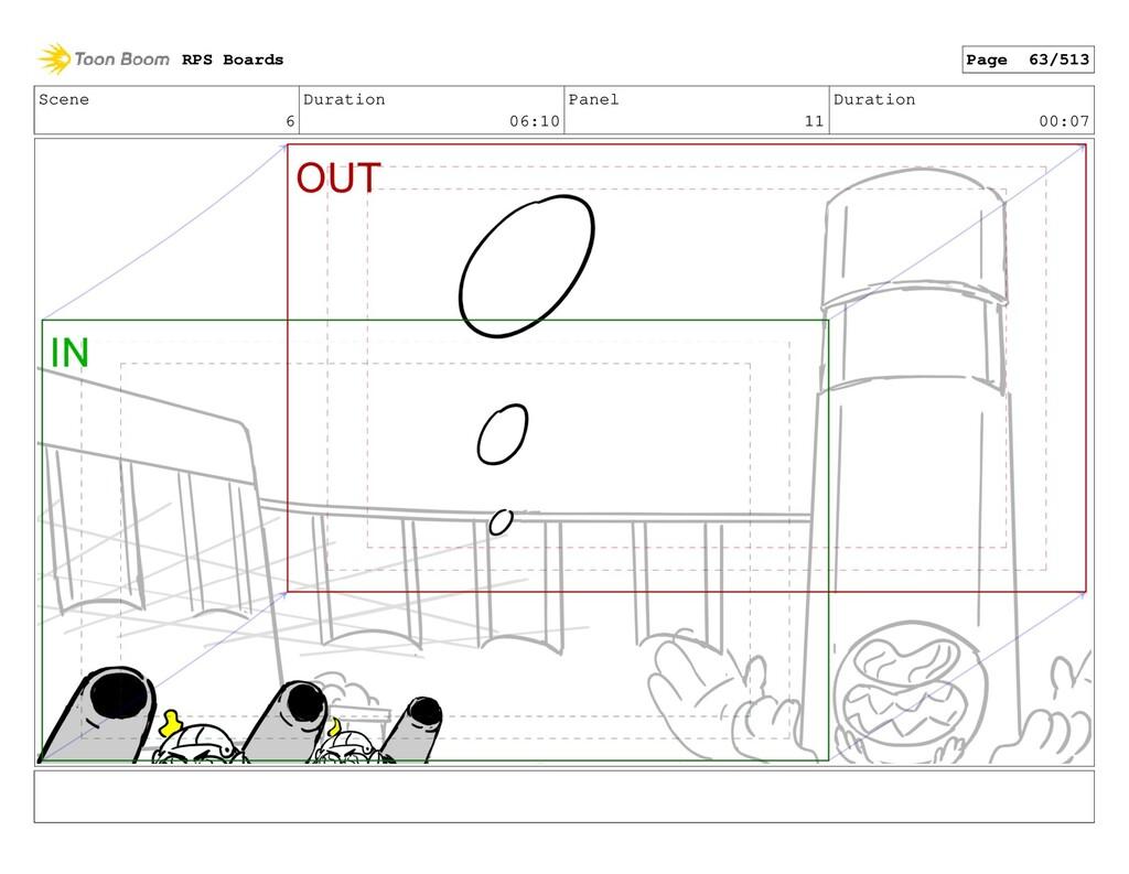 Scene 6 Duration 06:10 Panel 11 Duration 00:07 ...