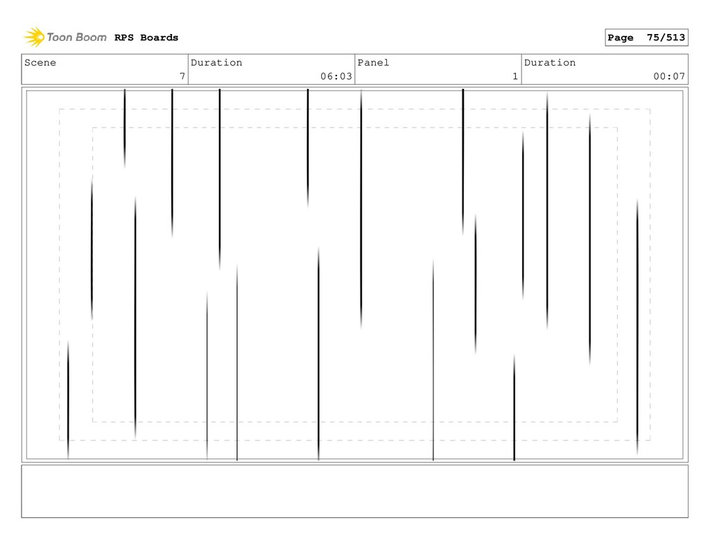 Scene 7 Duration 06:03 Panel 1 Duration 00:07 R...