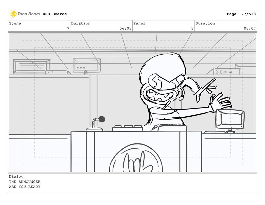 Scene 7 Duration 06:03 Panel 3 Duration 00:07 D...