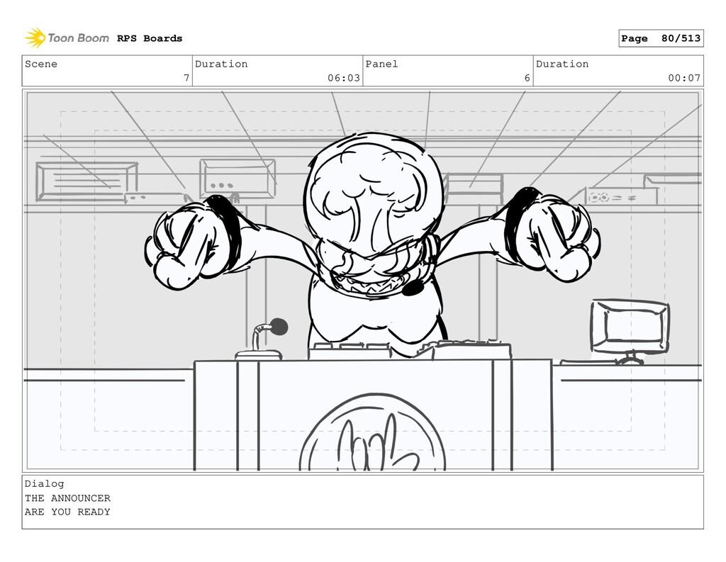Scene 7 Duration 06:03 Panel 6 Duration 00:07 D...