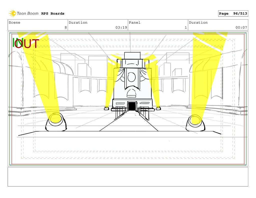 Scene 8 Duration 03:19 Panel 1 Duration 00:07 R...