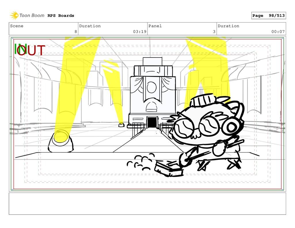 Scene 8 Duration 03:19 Panel 3 Duration 00:07 R...