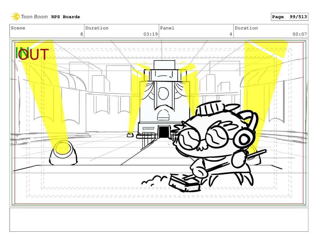 Scene 8 Duration 03:19 Panel 4 Duration 00:07 R...
