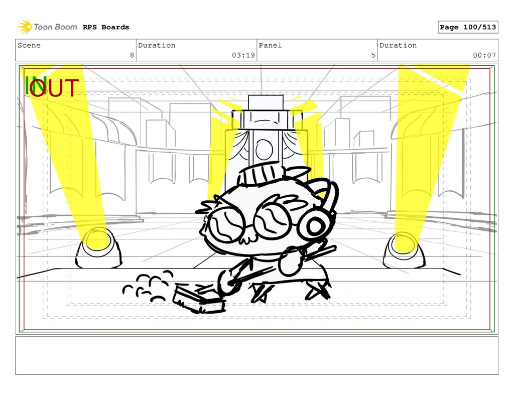 Scene 8 Duration 03:19 Panel 5 Duration 00:07 R...