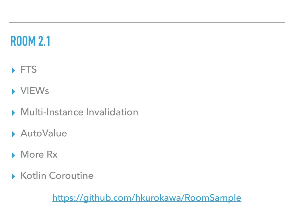 ROOM 2.1 ▸ FTS ▸ VIEWs ▸ Multi-Instance Invalid...