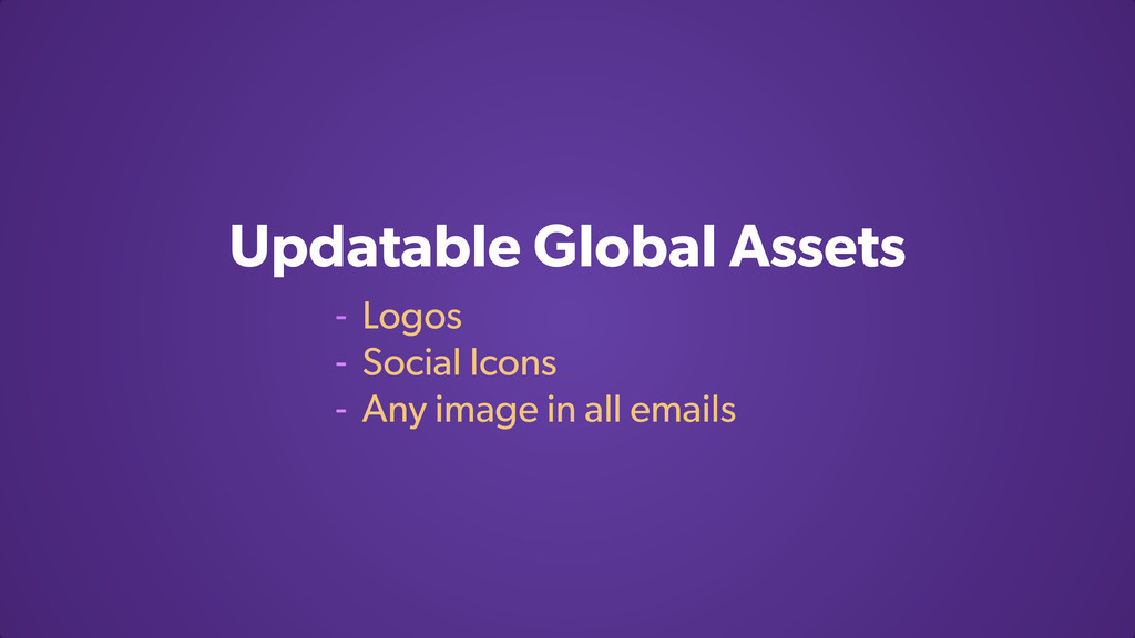 Updatable Global Assets - Logos - Social Icons ...