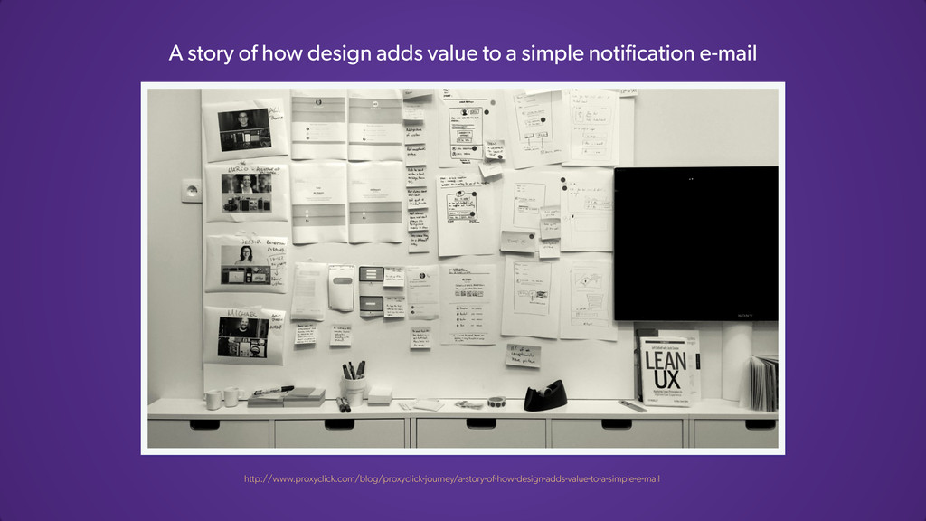 A story of how design adds value to a simple no...