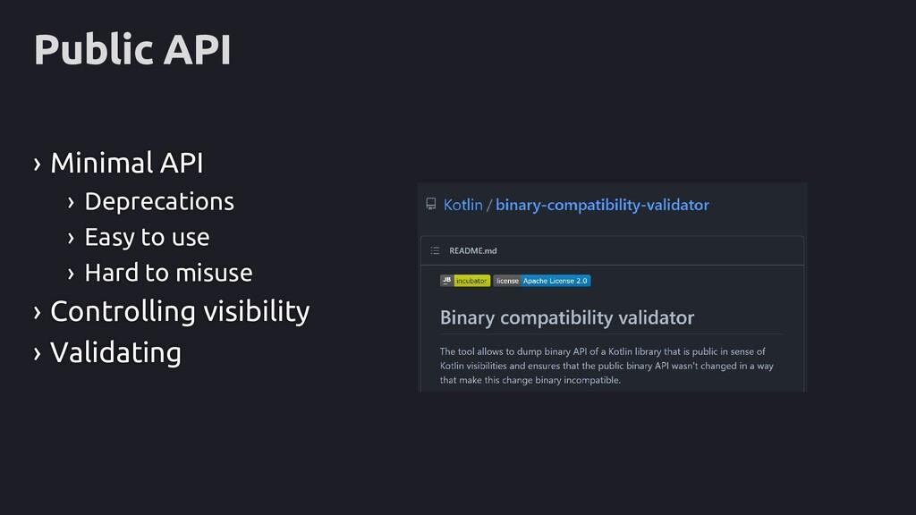 Public API › Minimal API › Deprecations › Easy ...