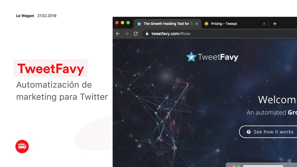 TweetFavy Automatización de marketing para Twit...