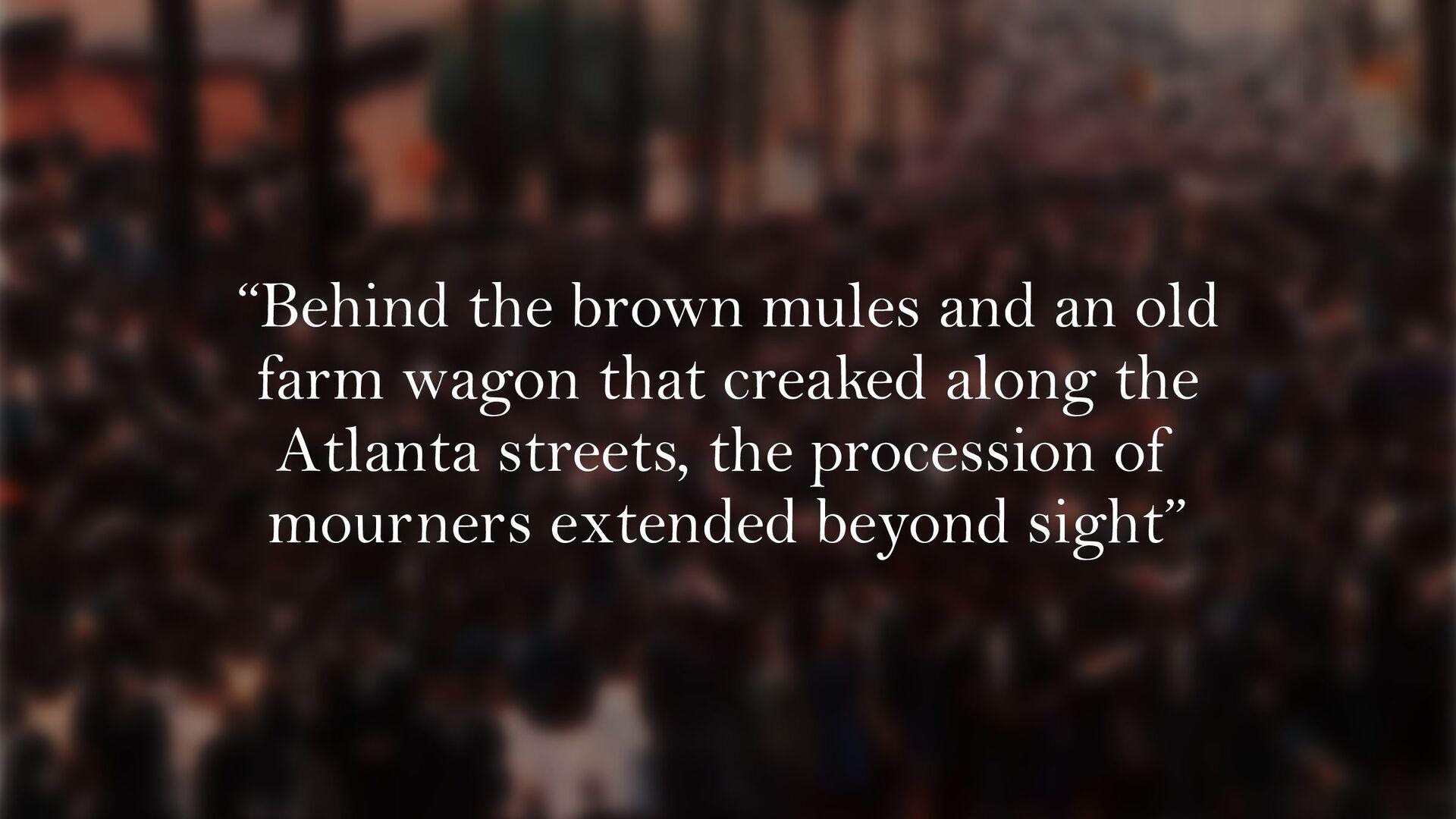 Gordon Parks for Life Magazine MLK funeral proc...