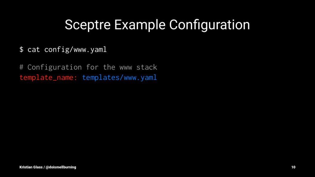 Sceptre Example Configuration $ cat config/www.y...