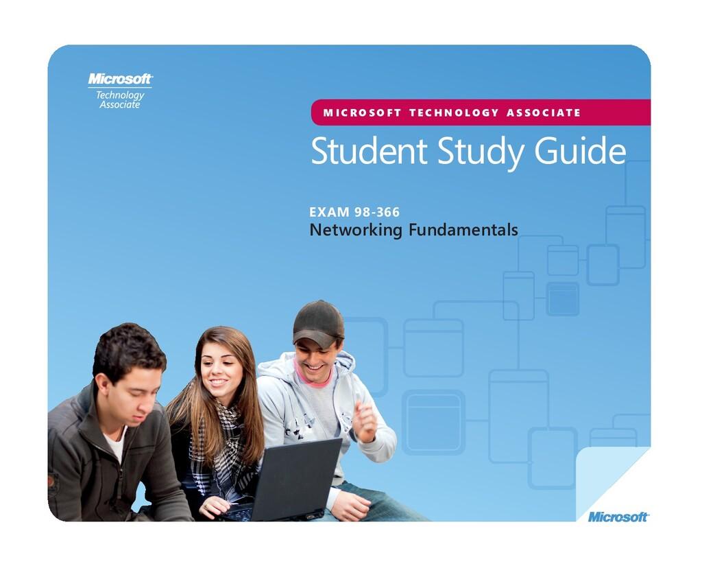 Student Study Guide M I C R O S O F T T E C H N...