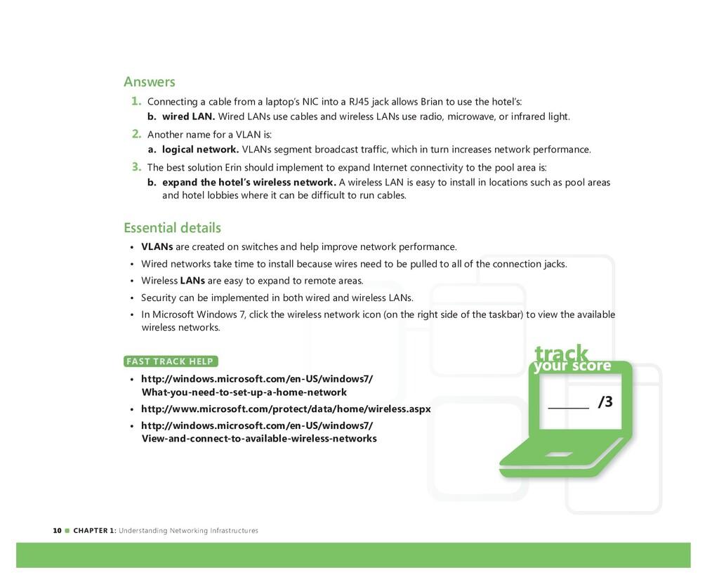 10 CHAPTER 1: Understanding Networking Infrastr...