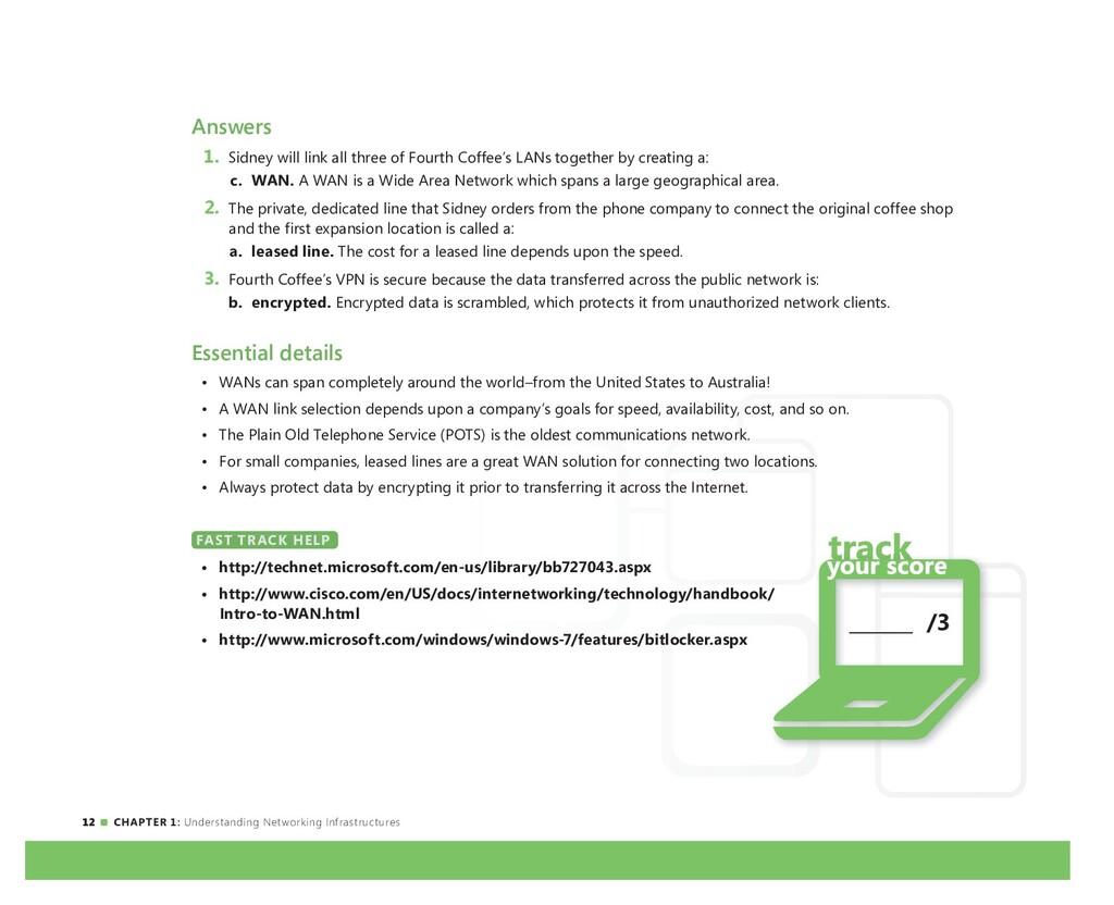12 CHAPTER 1: Understanding Networking Infrastr...
