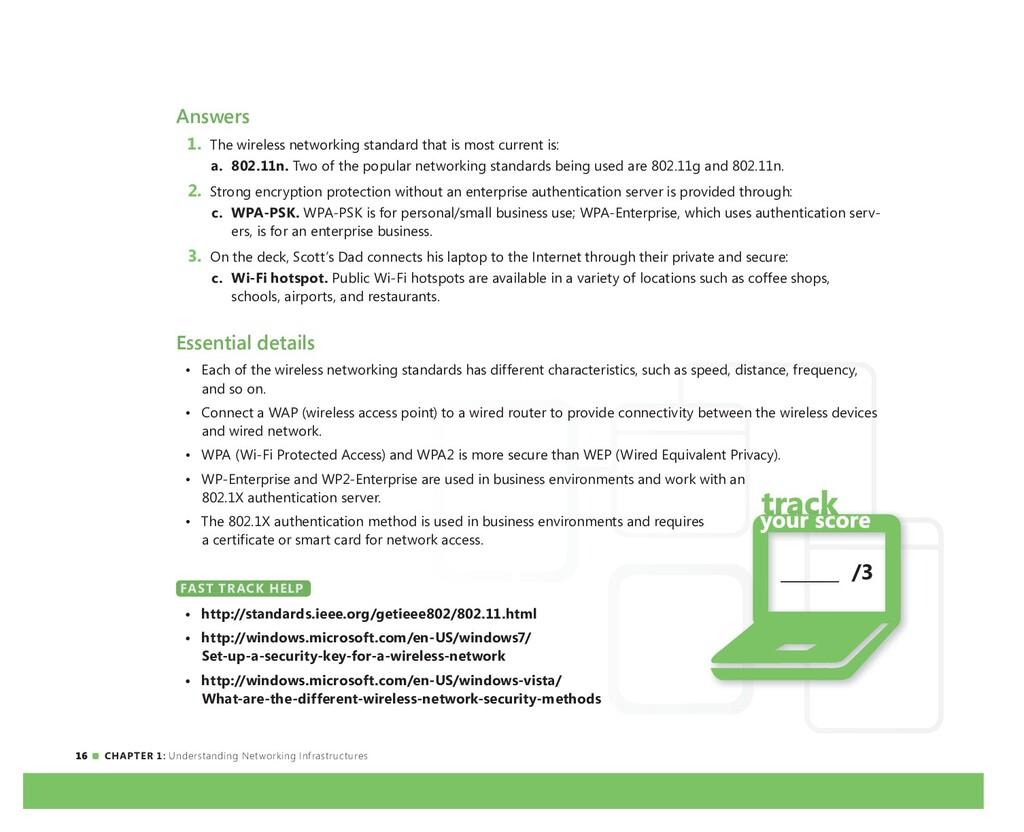 16 CHAPTER 1: Understanding Networking Infrastr...