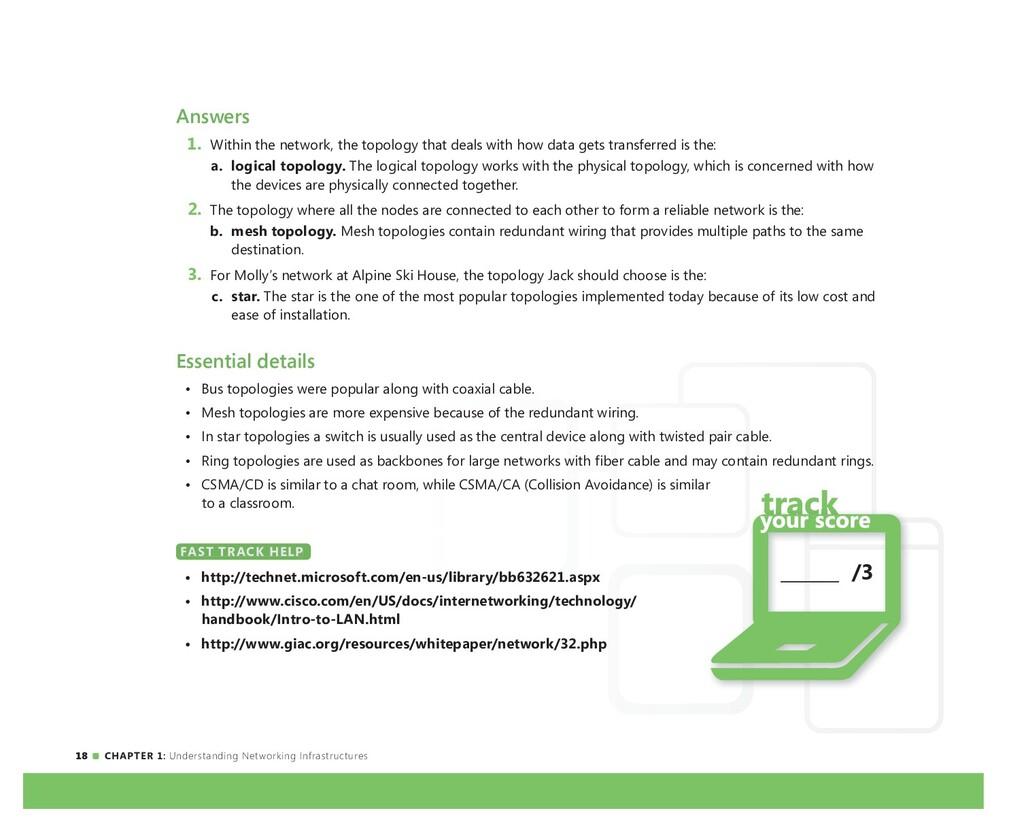 18 CHAPTER 1: Understanding Networking Infrastr...