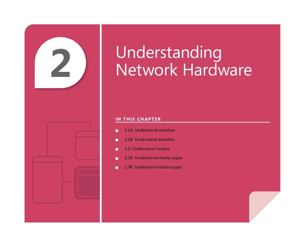 2 Understanding Network Hardware IN THIS CHAPTE...