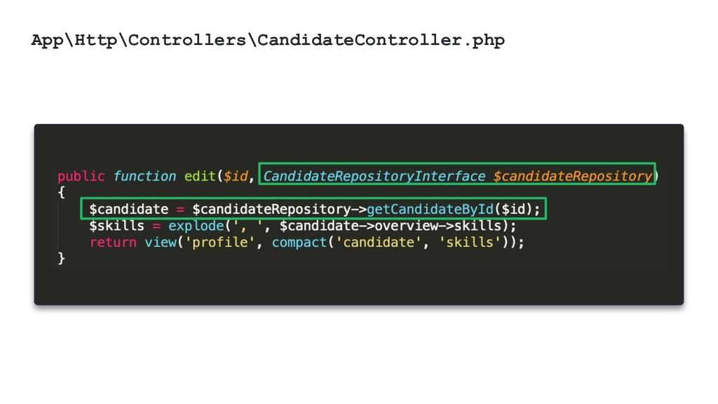 @ktrajchevska App\Http\Controllers\CandidateCon...