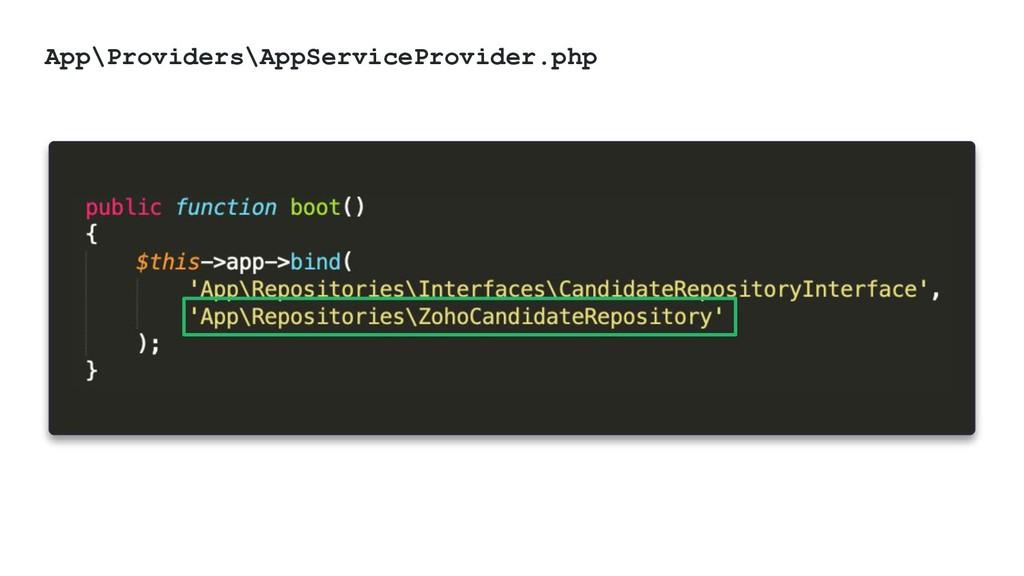 @ktrajchevska App\Providers\AppServiceProvider....