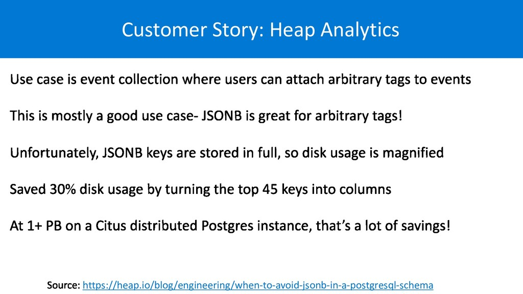 Customer Story: Heap Analytics https://heap.io/...