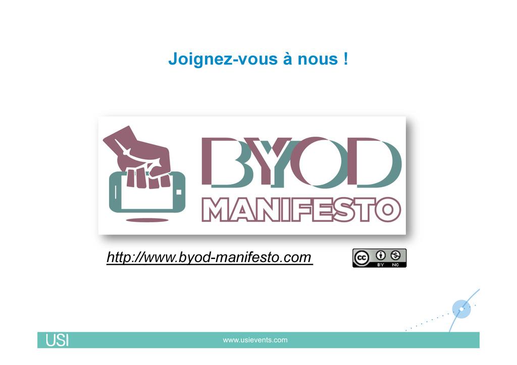 Joignez-vous à nous ! http://www.byod-manifesto...