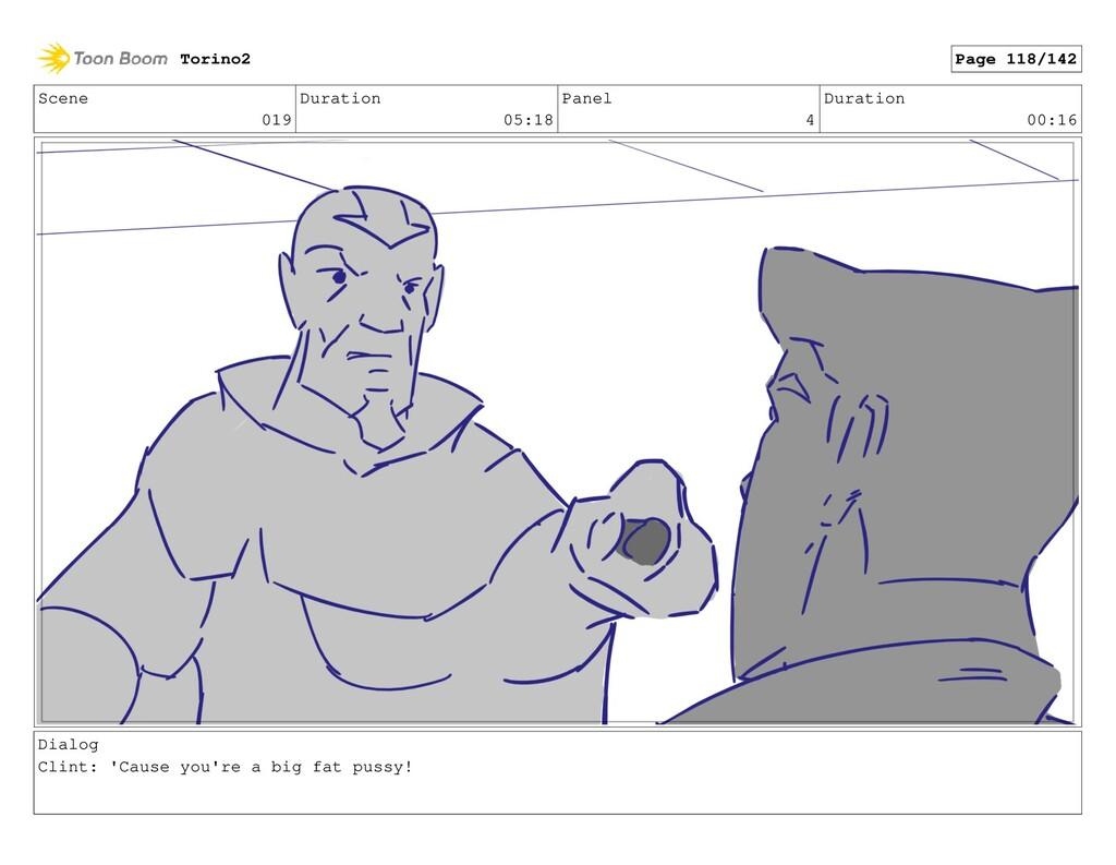 Scene 019 Duration 05:18 Panel 4 Duration 00:16...