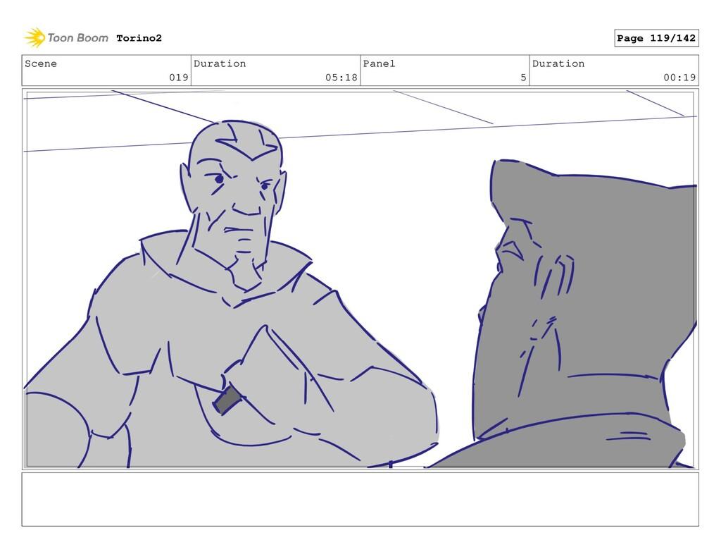 Scene 019 Duration 05:18 Panel 5 Duration 00:19...