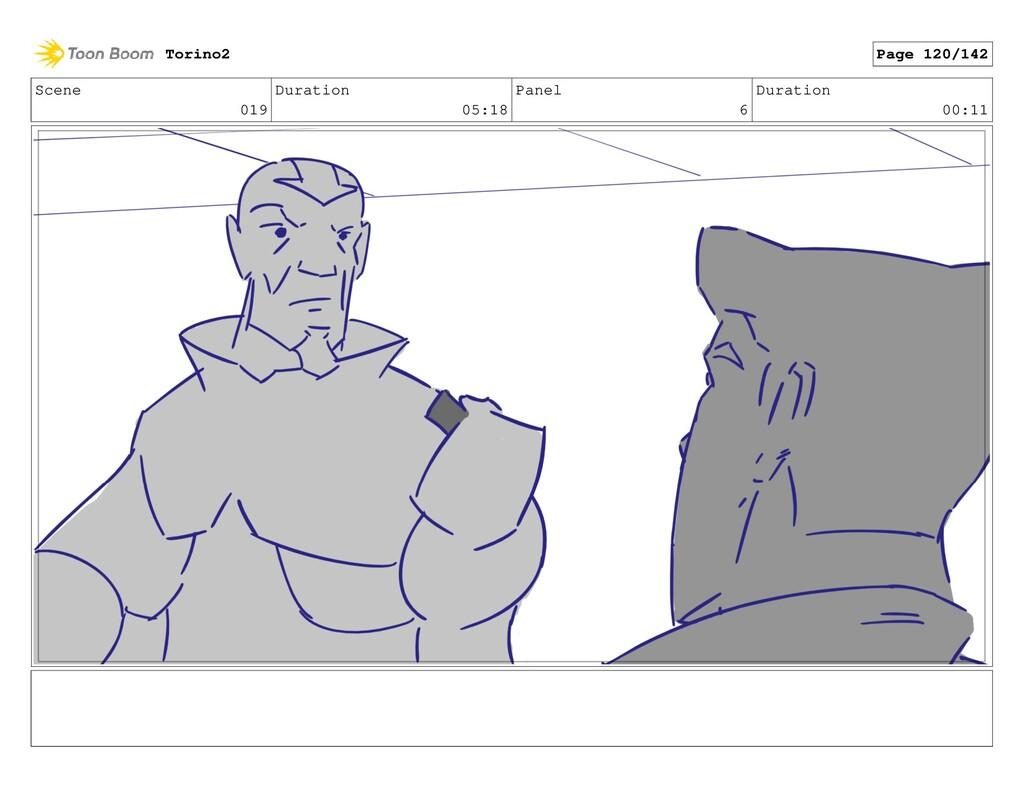 Scene 019 Duration 05:18 Panel 6 Duration 00:11...