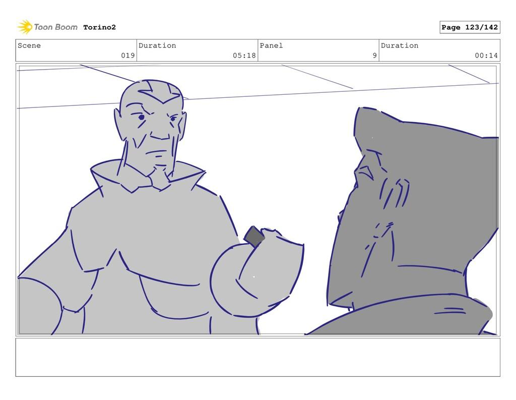 Scene 019 Duration 05:18 Panel 9 Duration 00:14...