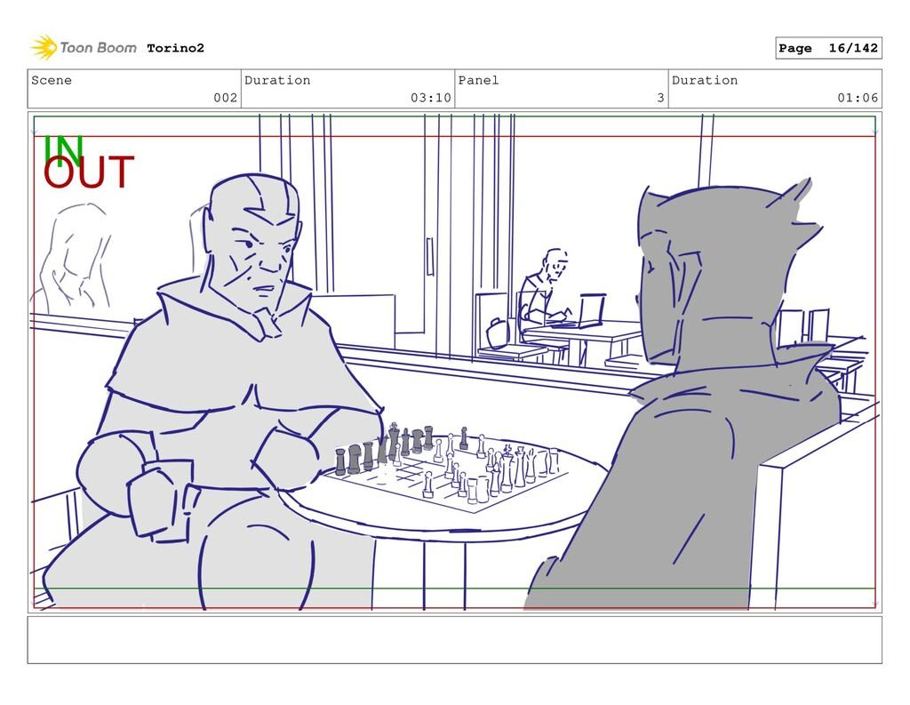 Scene 002 Duration 03:10 Panel 3 Duration 01:06...