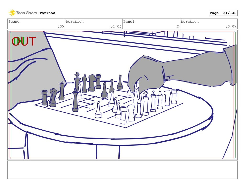 Scene 005 Duration 01:06 Panel 2 Duration 00:07...