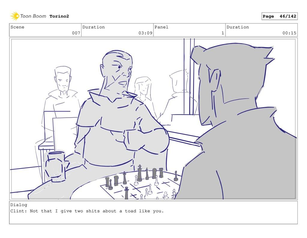 Scene 007 Duration 03:09 Panel 1 Duration 00:15...