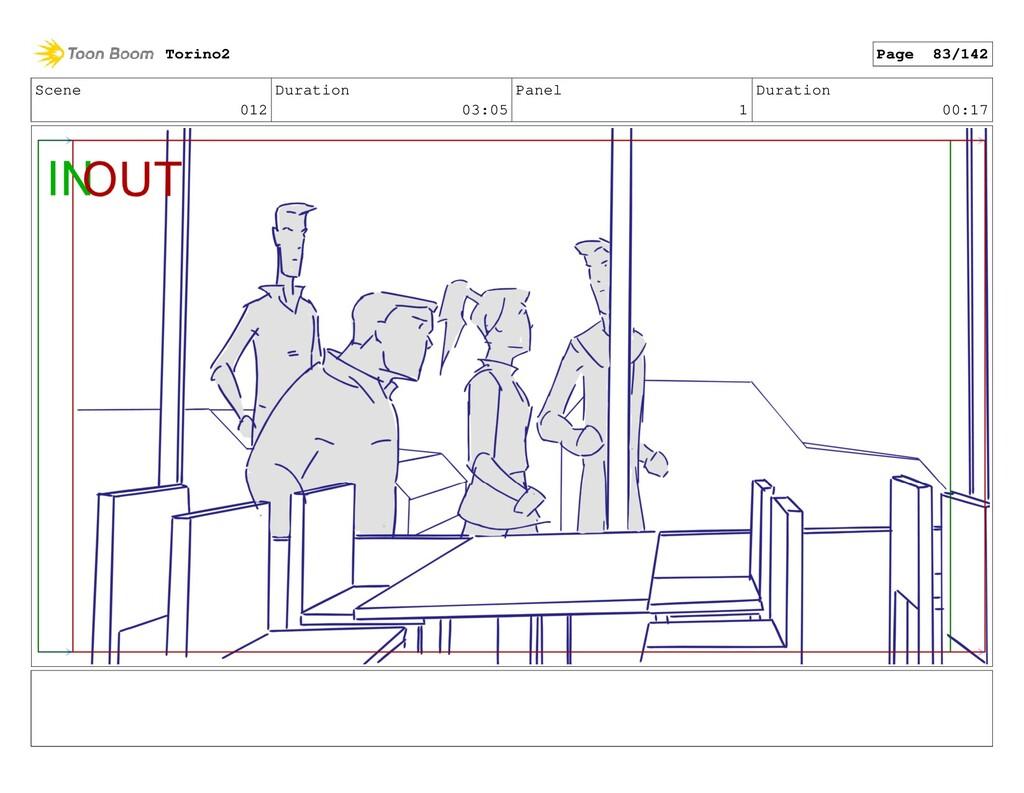 Scene 012 Duration 03:05 Panel 1 Duration 00:17...