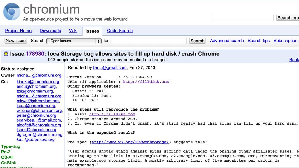 filldisk google bug report