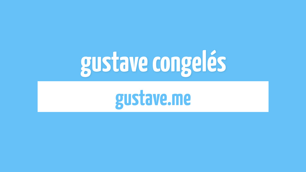 gustave congelés gustave.me