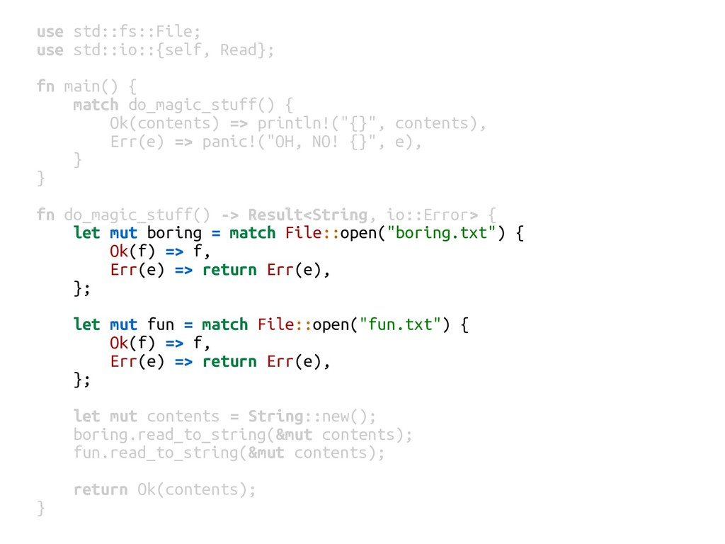 use std::fs::File; use std::io::{self, Read}; f...