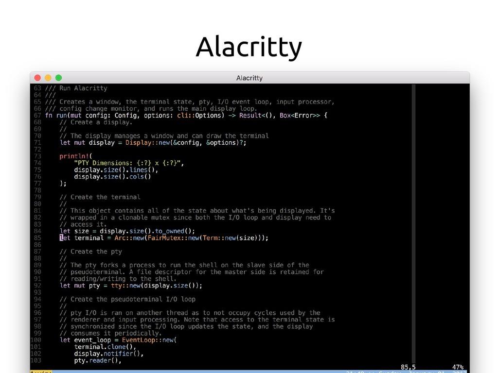 Alacritty