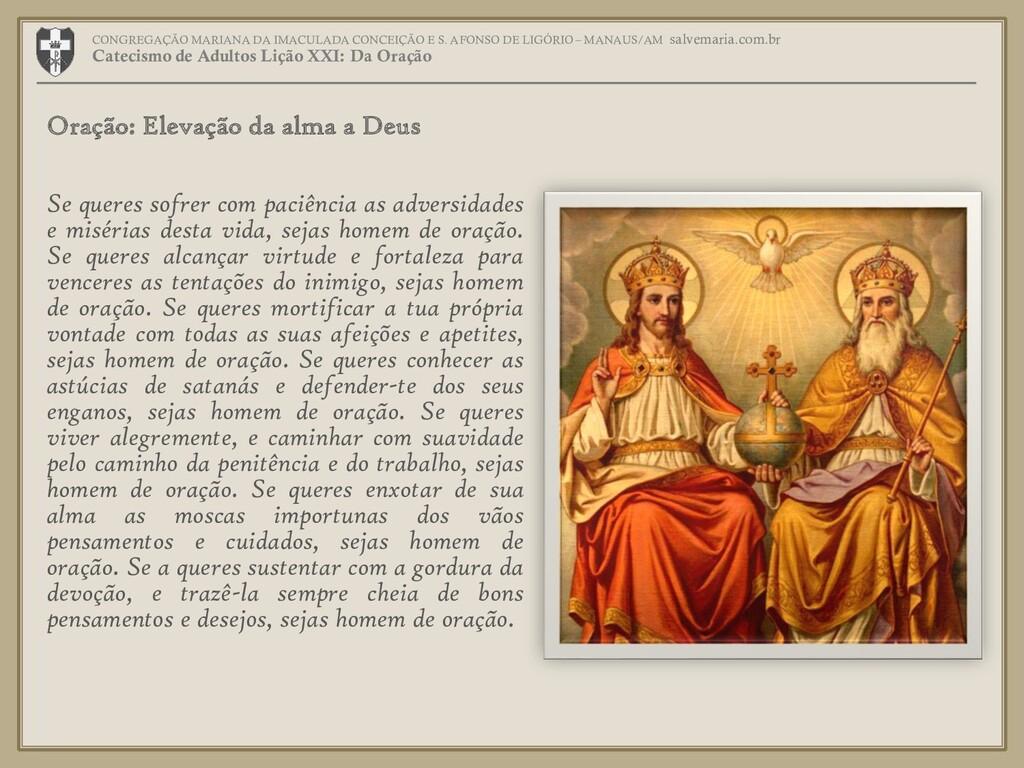 CONGREGAÇÃO MARIANA DA IMACULADA CONCEIÇÃO E S....