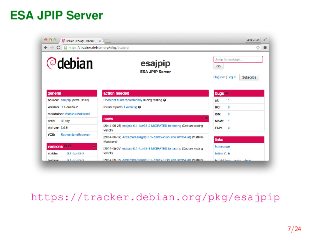 ESA JPIP Server https://tracker.debian.org/pkg/...