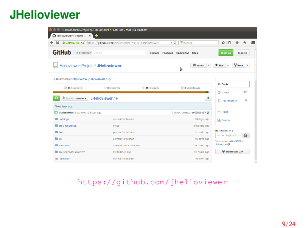 JHelioviewer https://github.com/jhelioviewer 9/...