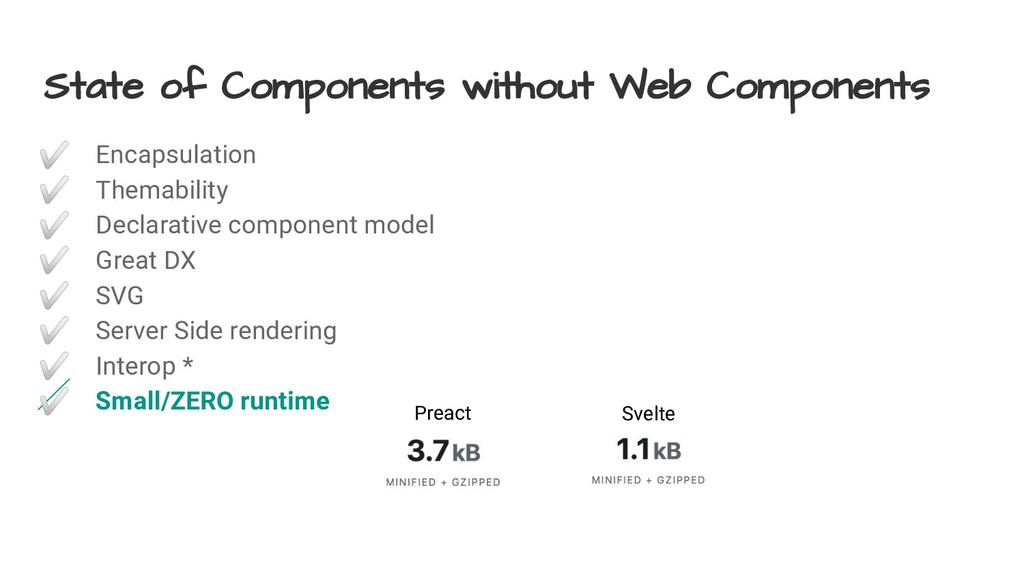 State of Components without Web Components ✅ En...