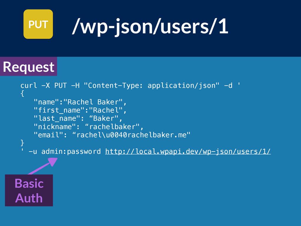 """curl -X PUT -H """"Content-Type: application/json""""..."""