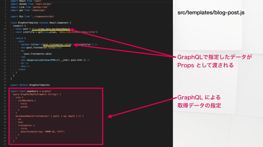 src/templates/blog-post.js (SBQI2-ʹΑΔ औಘσʔλͷࢦ...
