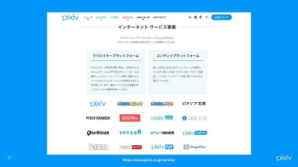 https://www.pixiv.co.jp/service/