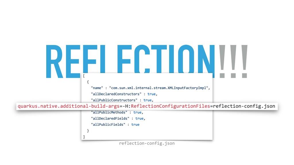 REFLECTION!!! reflection-config.json