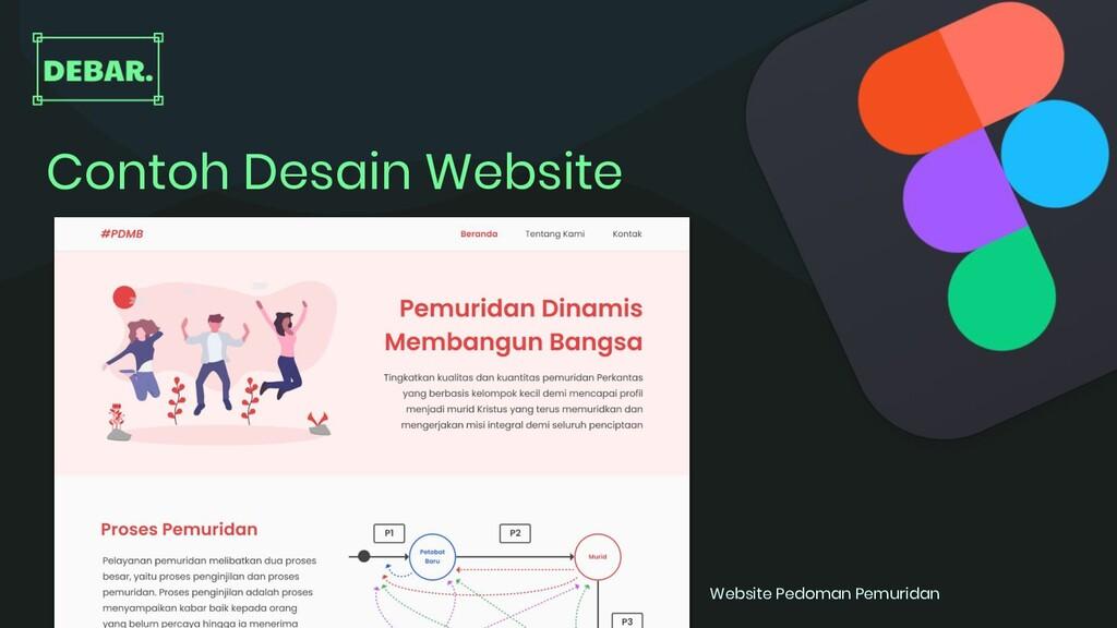 Contoh Desain Website Website Pedoman Pemuridan