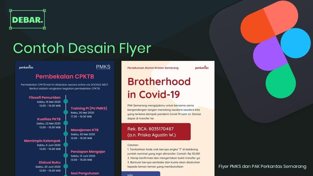 Contoh Desain Flyer Flyer PMKS dan PAK Perkanta...